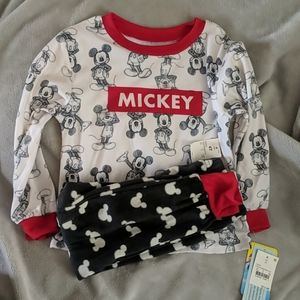 NWT Mickey PJs